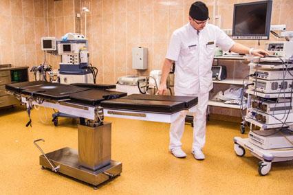 Операционная хирургического стационара, Бехтерева 7