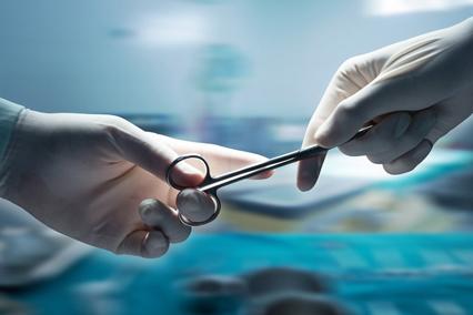 Удаление паховой грыжи, ход операции.